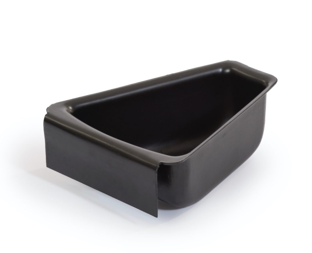 ESD tray inserts for 10 pocket trays