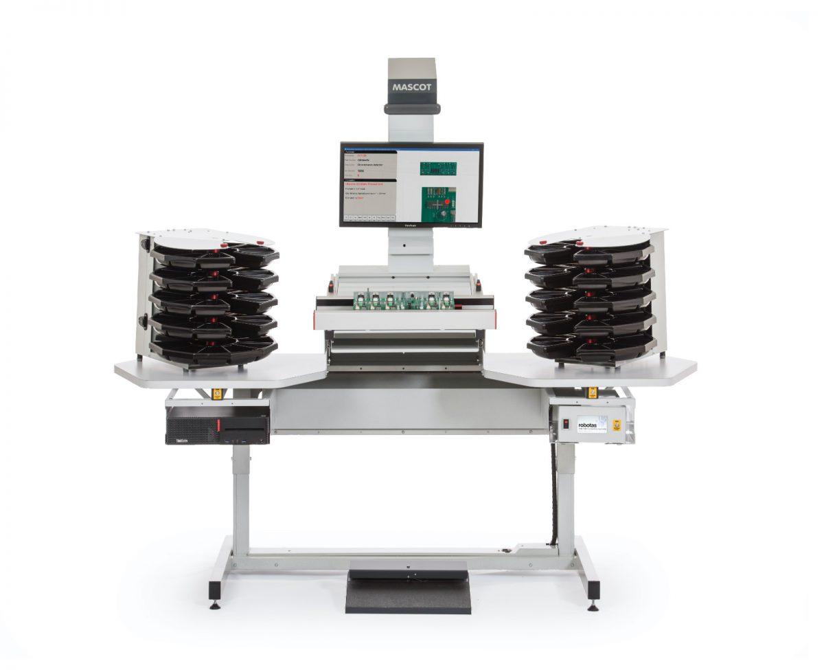 Robotas Electronics AssemblyMascot Slideline Workstation