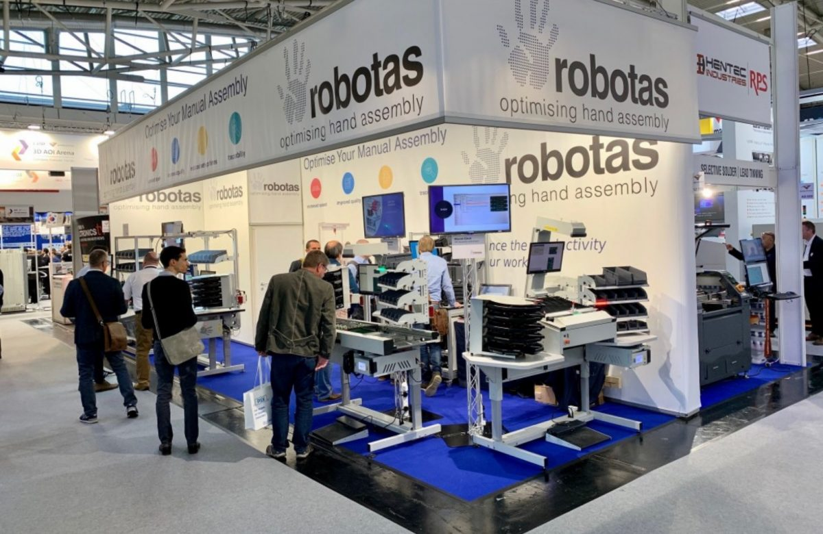 Robotas at Productronica