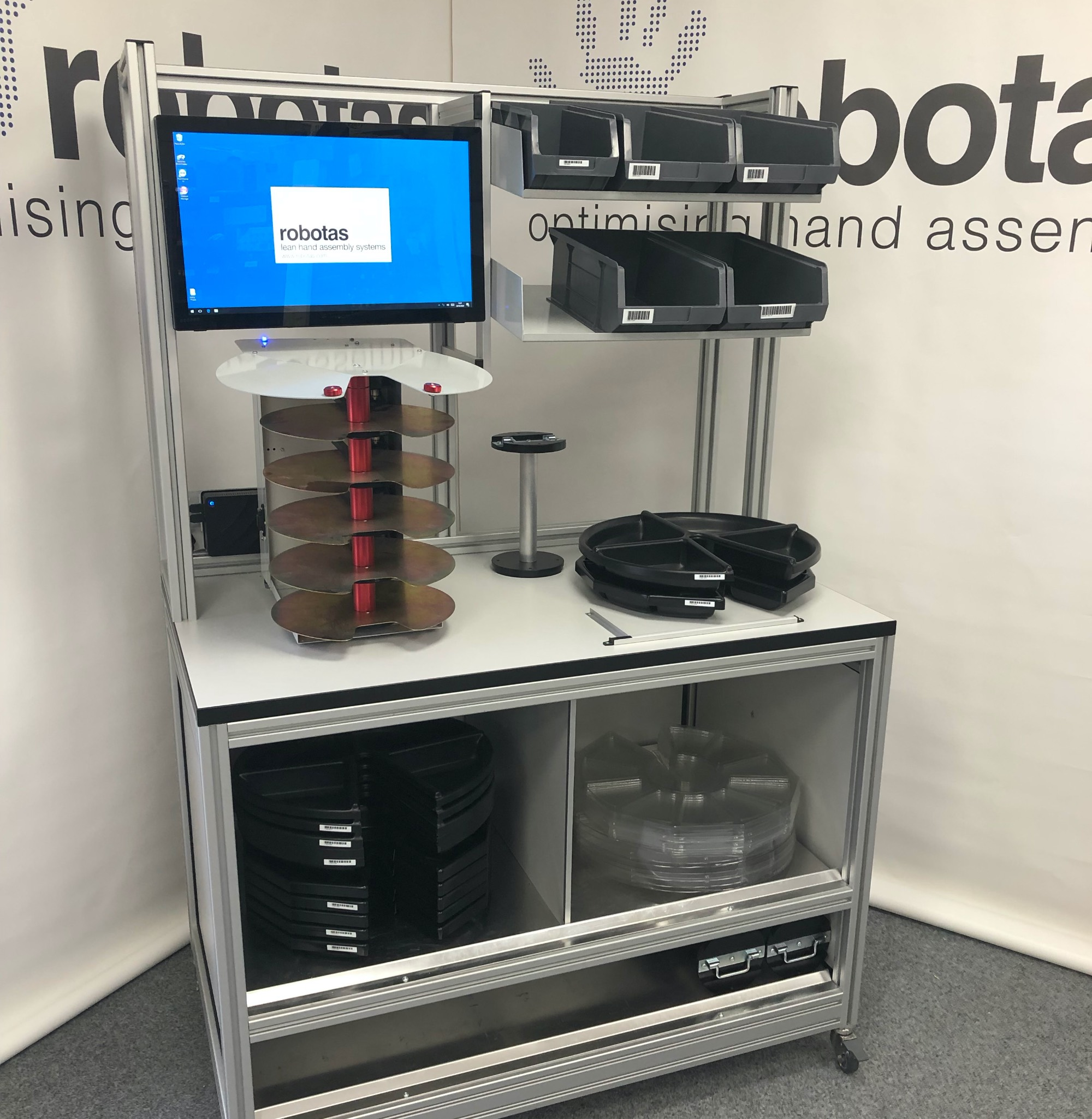 Material Handling System by Robotas